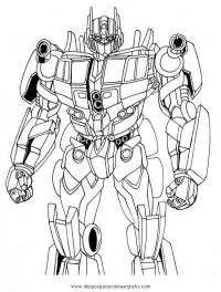 Dibujos De Transformers Para Colorear E Imprimir