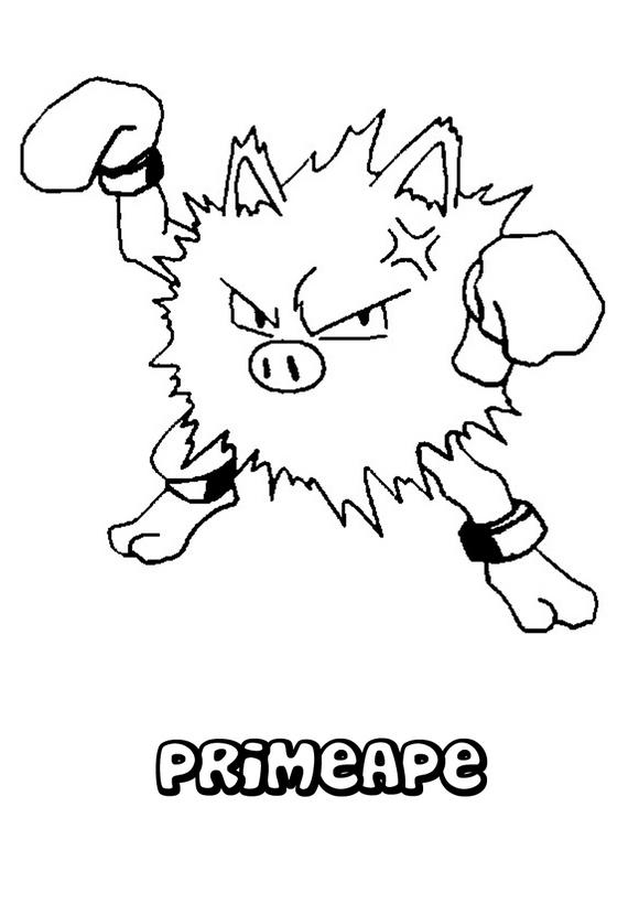 Dibujos De Pokmon Para Imprimir Y Colorear Con Sus Amigos