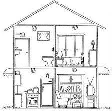 Dibujos de casas para imprimir y colorear Colorear imágenes