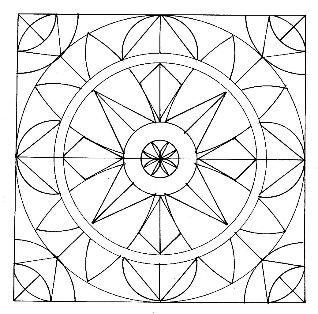 100 Mandalas Abstractos Y Figurativos Para Colorear