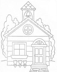 Dibujos Para Colorear Iglesias Infantiles Dibujos Cristianos