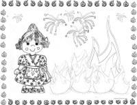 Dibujos de Fallas de Valencia para pintar