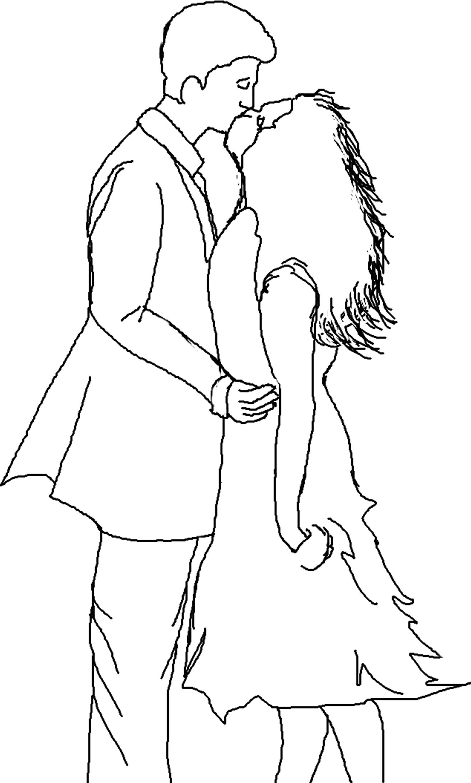 25 dibujos de amor para descargar, imprimir y pintar
