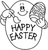 Huevos De Pascua Para Colorear Easter Eggs Http