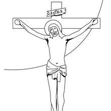 Dibujos de Jesucristo cargando la cruz para pintar