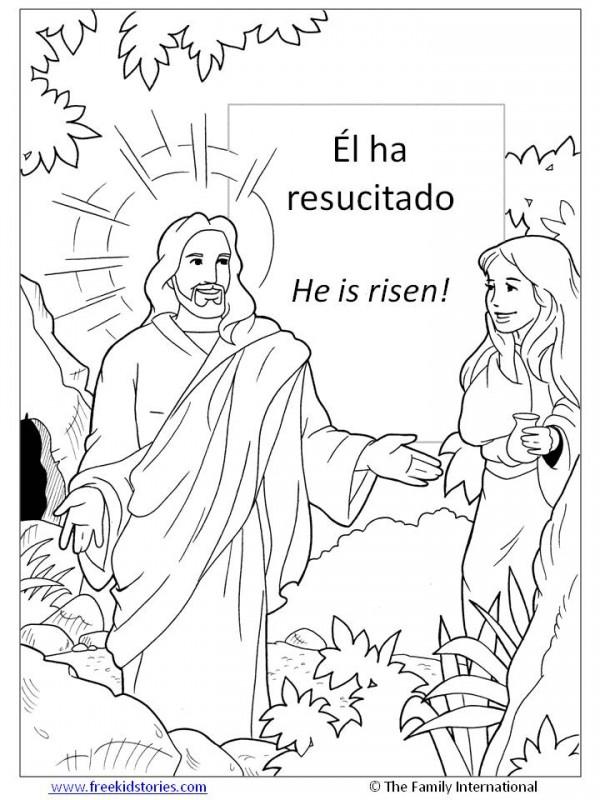 Ver más ideas sobre biblia, páginas para colorear de biblia, jesus para colorear. Dibujos del Domingo de Resurrección para descargar