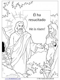 Dibujos del Domingo de Resurreccin para descargar