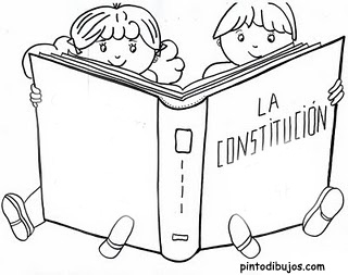 Dibujos del Día de la Constitución Nacional Argentina para