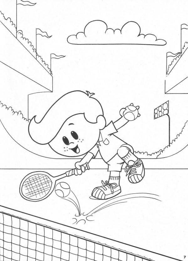 Colorear De Dibujos Para Ninos Peleando