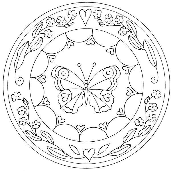 Mándalas para pintar: Mandalas para colorear en fechas