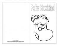 Invitacion De Navidad Para Colorear Dibujos De Navidad Para