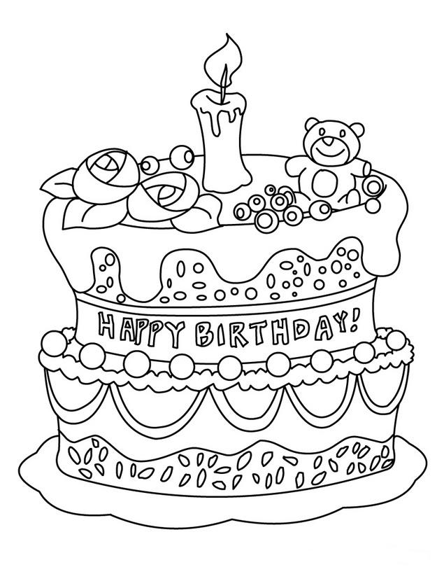 54 Tarjetas de Felíz Cumpleaños para pintar y regalar