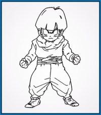 Colorear Dragon Ball Z Dibujos De Dragon Ball Super