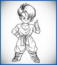 60 Imgenes de Dragon Ball Z para colorear dibujos