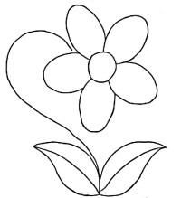 Dibujos De Plantas Para Colorear Faciles Coloring Page