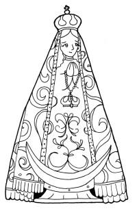 Imagenes De La Virgen De Coromoto Para Colorear