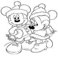 Imgenes con Dibujos Navideos de Disney para colorear ...