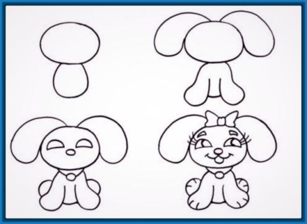 Imagenes De Dibujos Animados Para Dibujar Faciles Paso A Paso