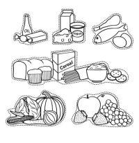 Dibujos De Alimentos Saludables Para Colorear Dibujos