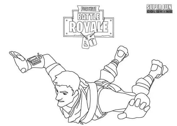 Dibujos Para Pintar Fortnite Fortnite Battle Royale