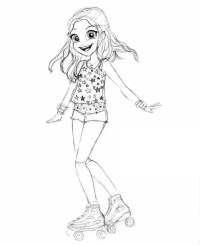 Dibujos De Soy Luna Para Colorear E Imprimir Dibujos De