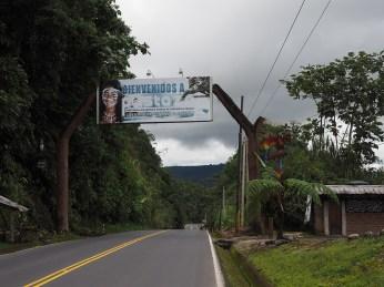 """Der offizielle """"Eingang"""" nach Amazonien"""