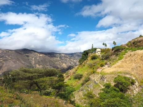 Peruanische Berghänge