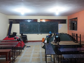 Schulcamp in Chota