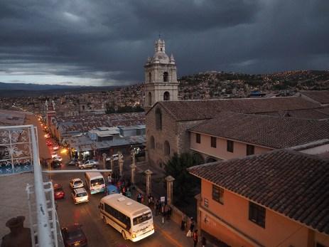 Die Aussicht von der Terrasse des Hotels Crillonesa