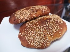 Das süssliche Brot Wawa, eine Spezialität von hier
