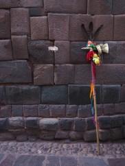 Der Inka ist schon weg