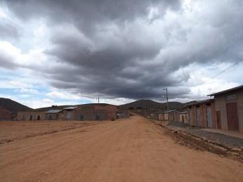 Blick nach Bolivien