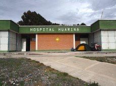 Mein Nachtlager in Huarina