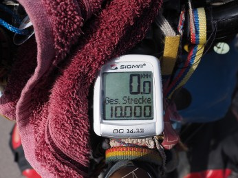 Kilometer 10'000...