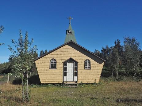 Die kleinen Kirchen haben oft interessante Formen