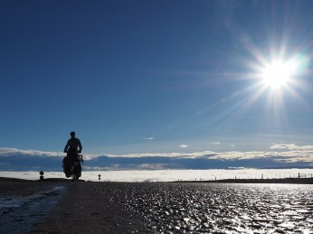 Über den Wolken, muss die Freiheit wohl grenzenlos sein...