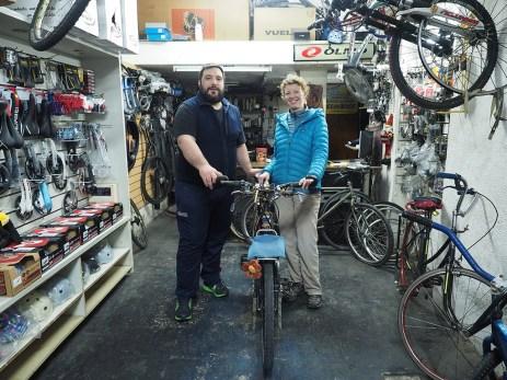 Mit Martin von Babe Bikes