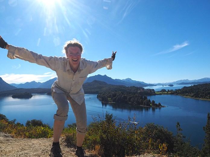 Beim Mirador über die Seenwelt