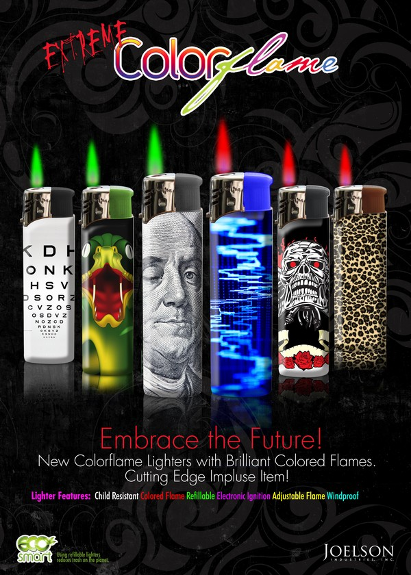 Colorflame  Official Site Colorflame Lighters  Colorflame  Official Site