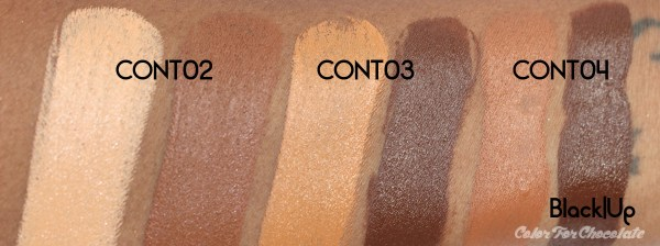 Color For Chocolate | Black Up Cosmetics Contouring Stick Review ...