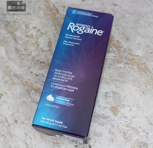 5 Steps To Treating Thinning Hair With Women's ROMAINE® Foam