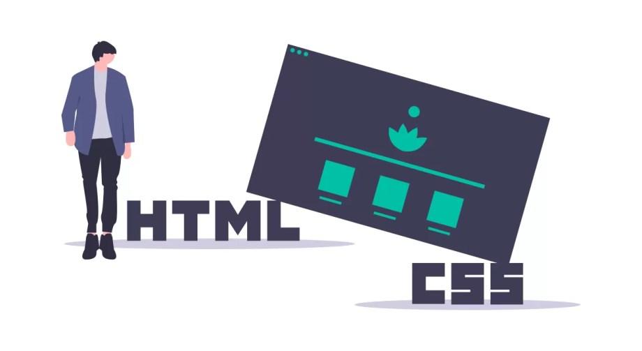 HTML・CSSのイラスト