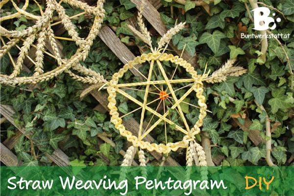 Straw Weaving – Pentagram Star