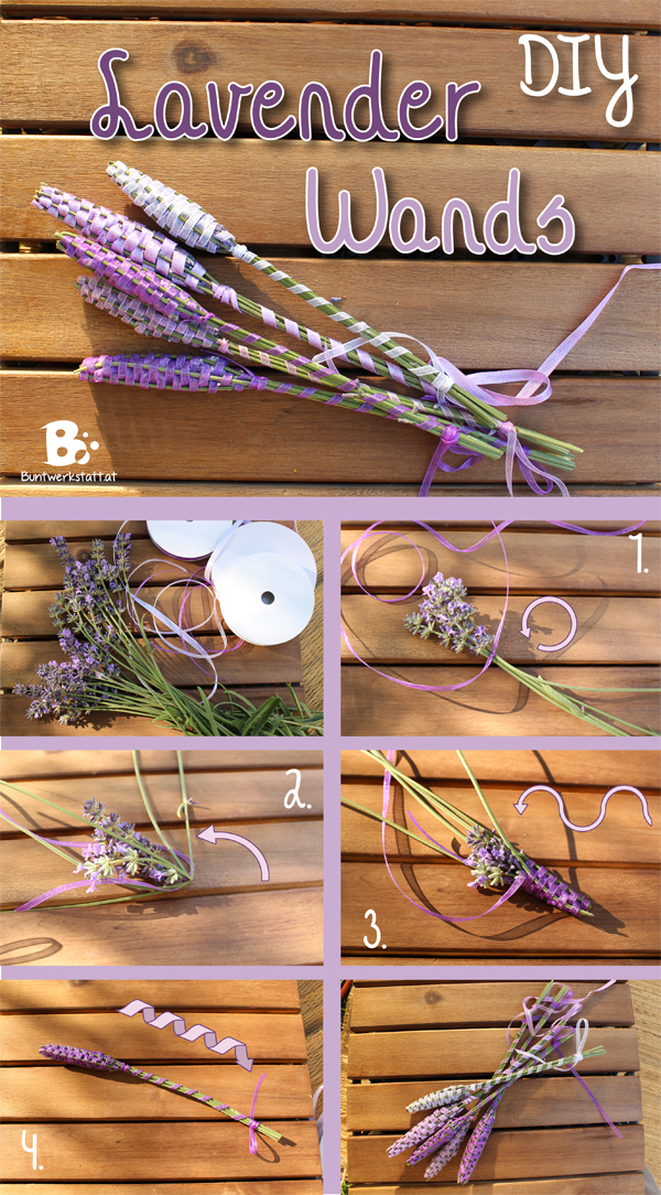lavender wands tutorial