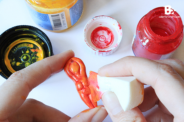 Polymer Clay Watercolor Effect