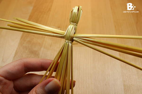 How to make a Brigid Doll - straw doll DIY