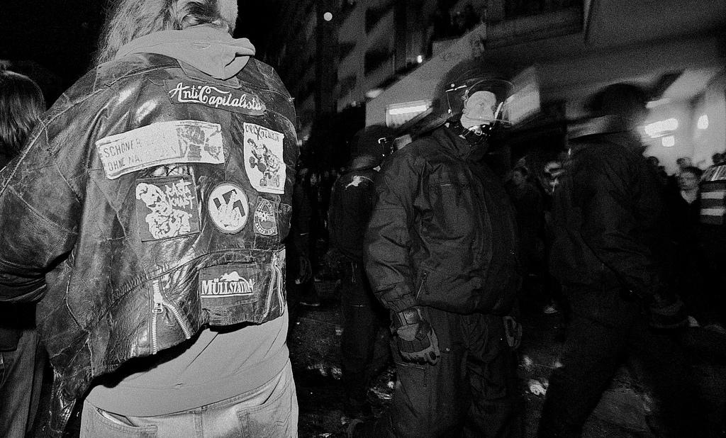 Klare Sympathien bei der Polizei für die Pegida