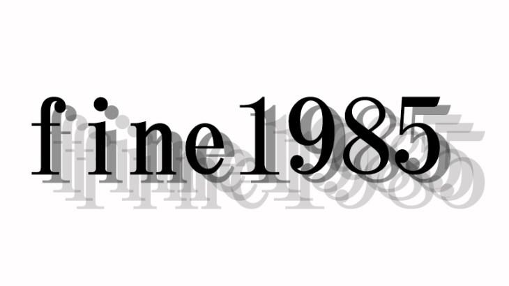 fine1985~冬こそ色物!~