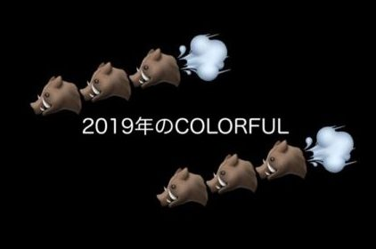 2019年のCOLORFUL