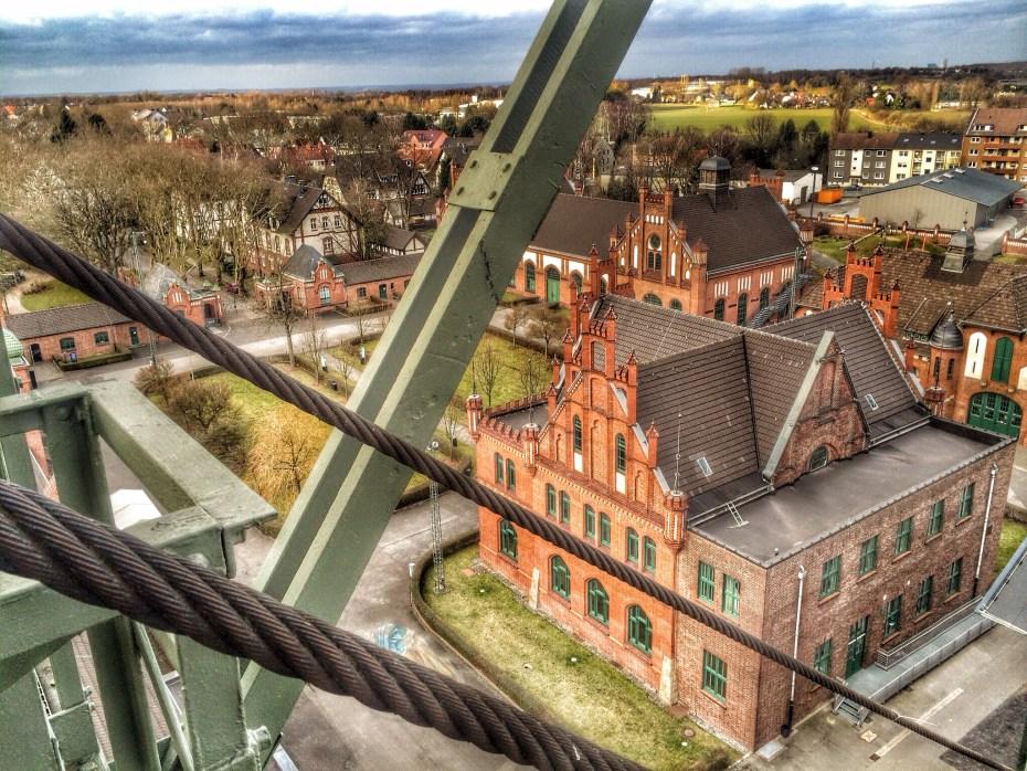 Blick vom Zechenturm auf das Gelände